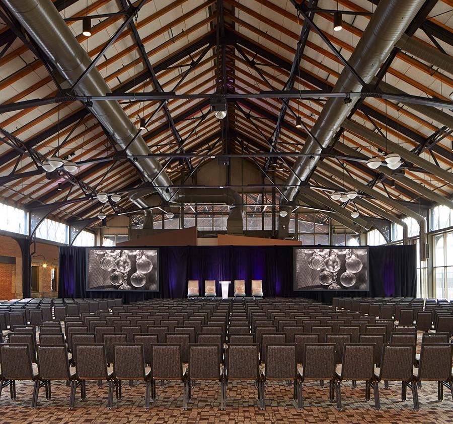 Depot Pavilion - Theater Setup