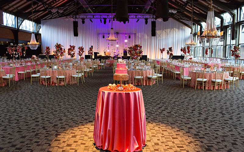 Depot Pavilion Wedding Reception