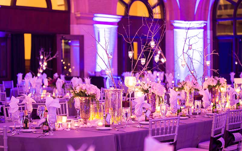 Great Hall Wedding Reception