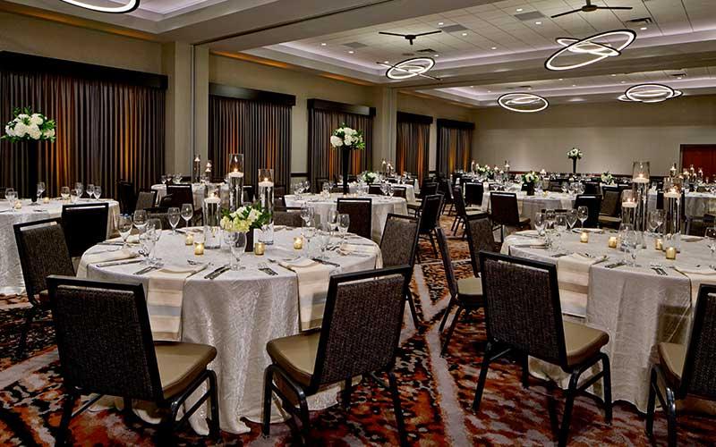 Hiawatha Ballroom Social Setup