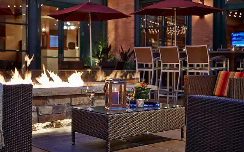 Milwaukee Road Patio & Fire Pit