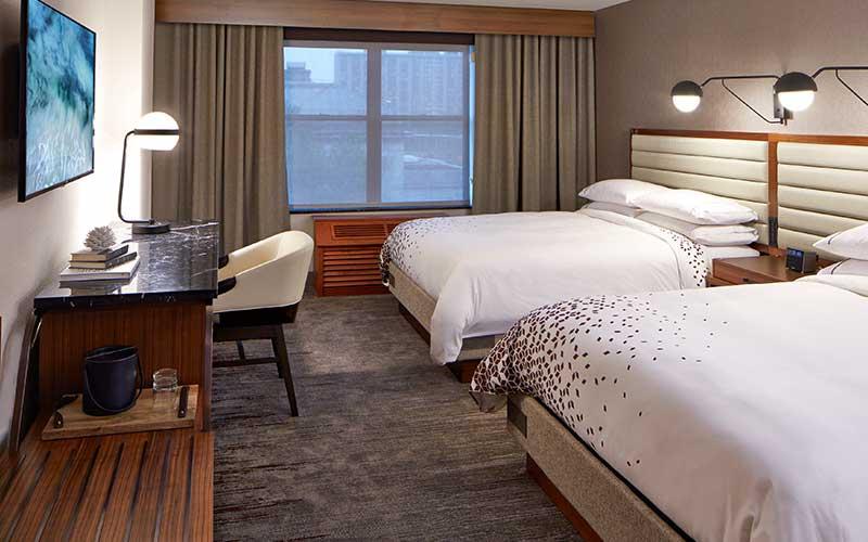 Renaissance Minneapolis Double Queen Guest Room