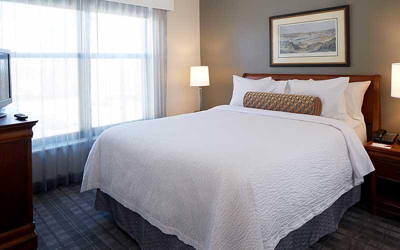 Two Bedroom Suite Sleeping Area